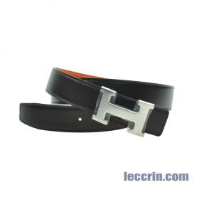 HERMES BELT ORANGE/BROWN (93/46) SS 95CM