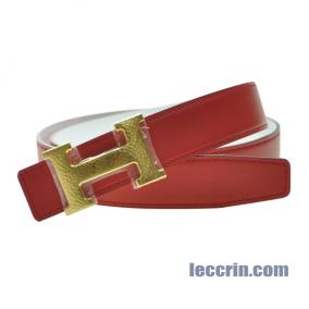 HERMES  BELT WHITE/RED (01/54) GP 85CM