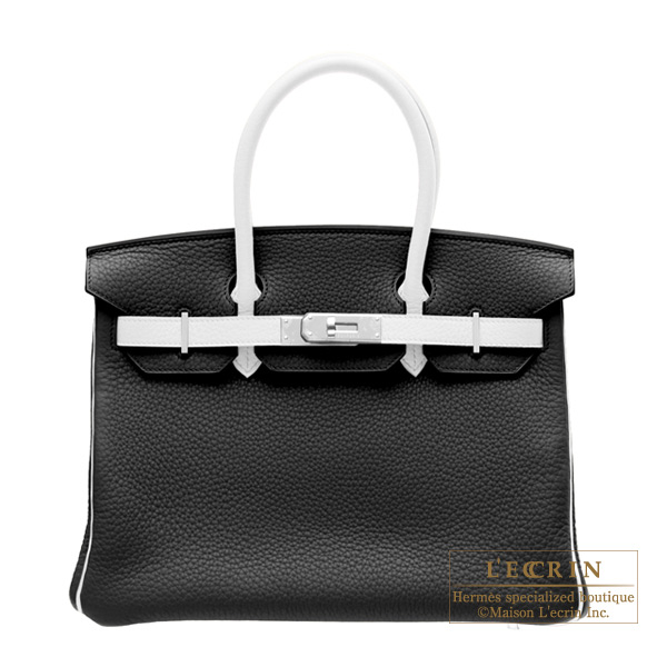 Black Hermes Birkin Bag Hermes Birkin Bag 30 bi Color