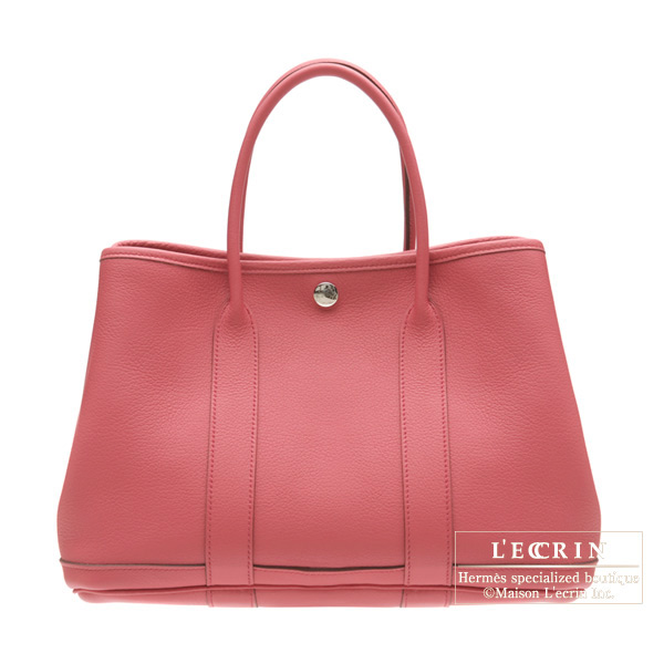 Hermes Garden Party bag PM Bois De Rose/Rose Wood Negonda leather