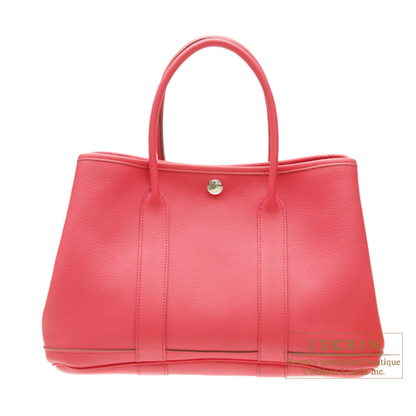 Hermes Garden Party bag PM Bougainvillier Negonda leather