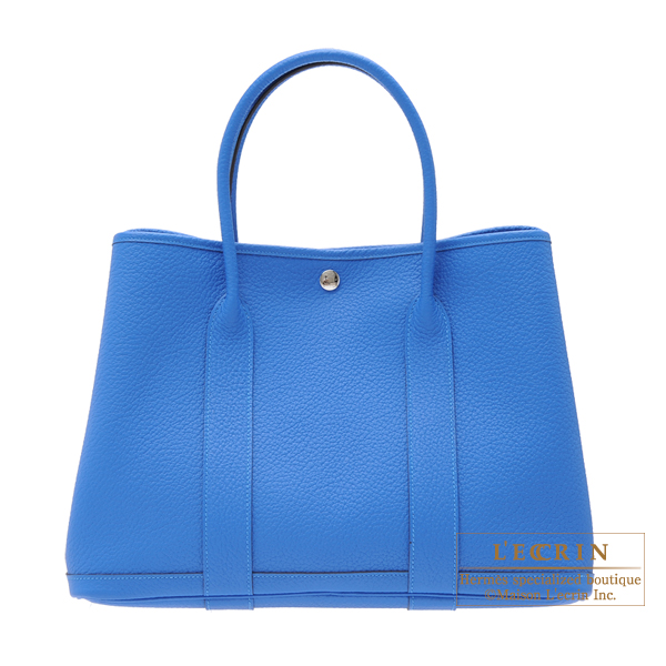 hermes garden party bag pm hermes garden party bag pm blue hydra fjord
