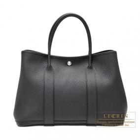 Hermes Garden Party bag PM Quadrige Black Country leather