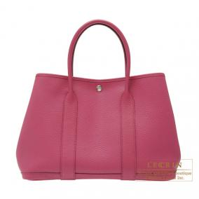 Hermes Garden Party bag PM Tosca Country leather