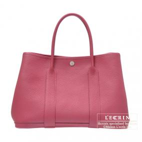 Hermes Garden Party bag PM Tosca Fjord leather