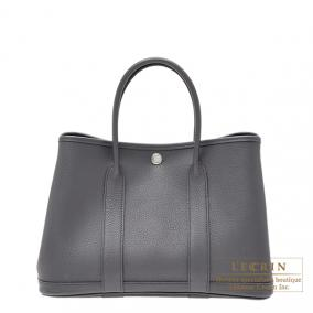 Hermes Garden Party bag TPM Ardoise/Dark grey Negonda leather