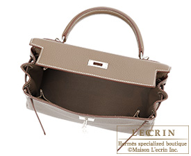 Hermes Kelly Taupe