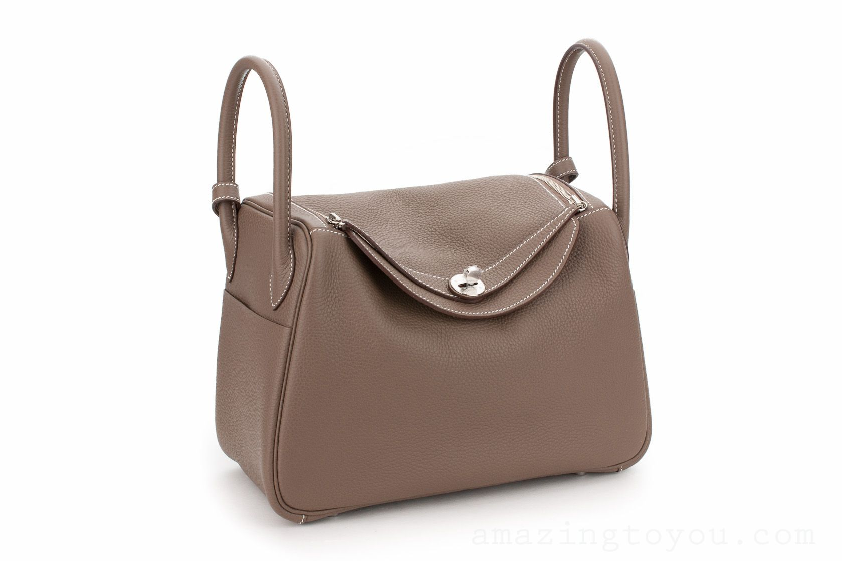 Hermes Lindy 30 Etoupe Clemence