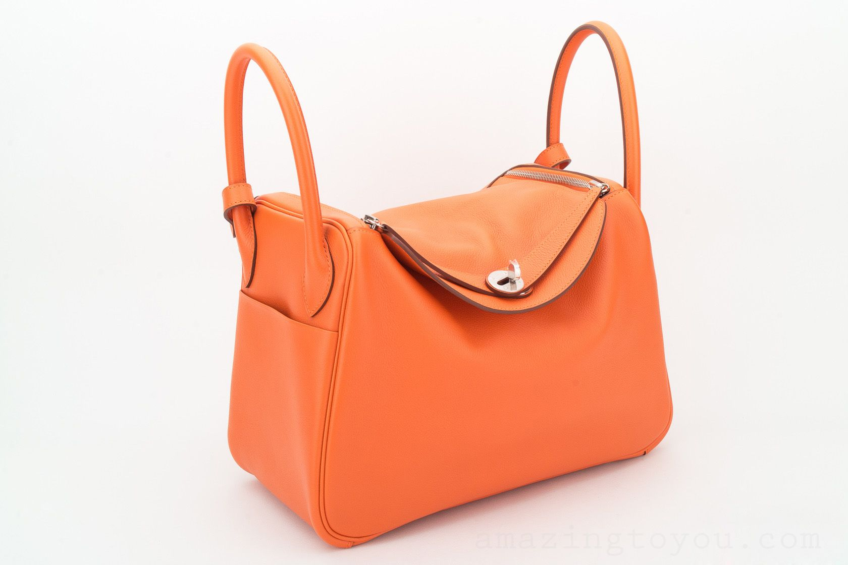 New Hermes Lindy 30 Feu Evercolor