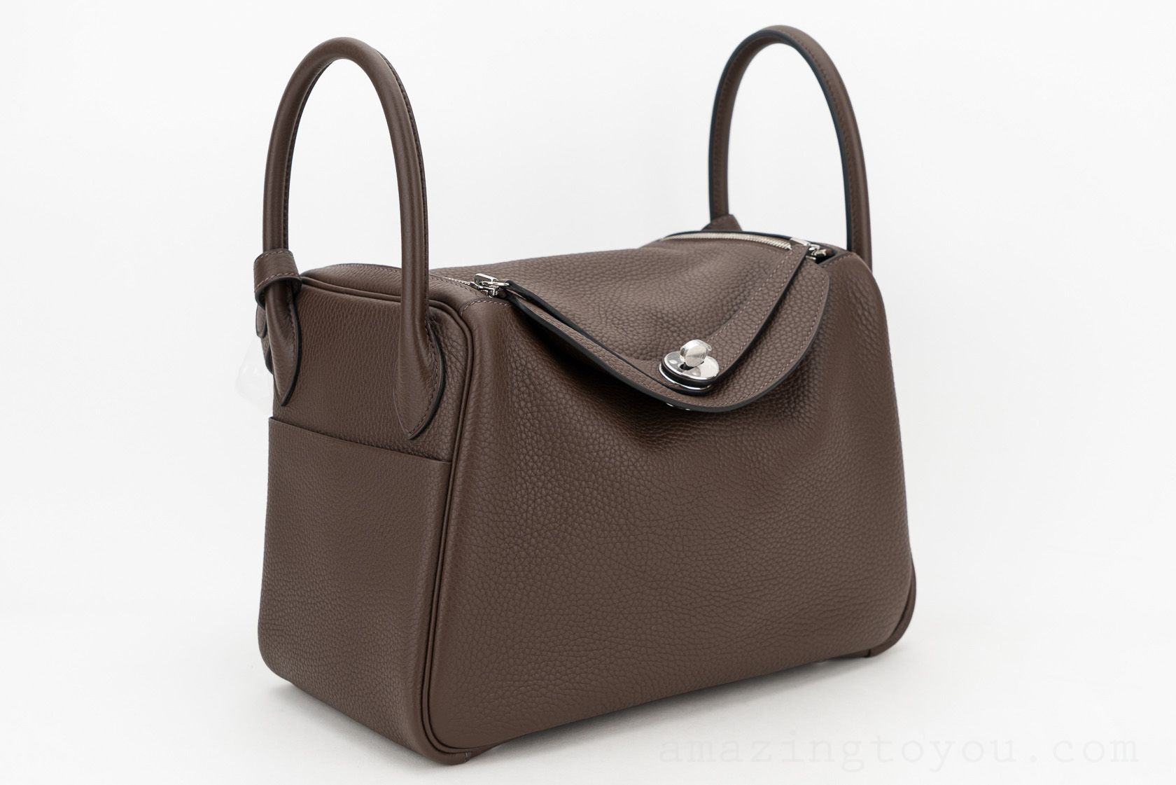 Hermes Lindy 30 Cacao Clemence