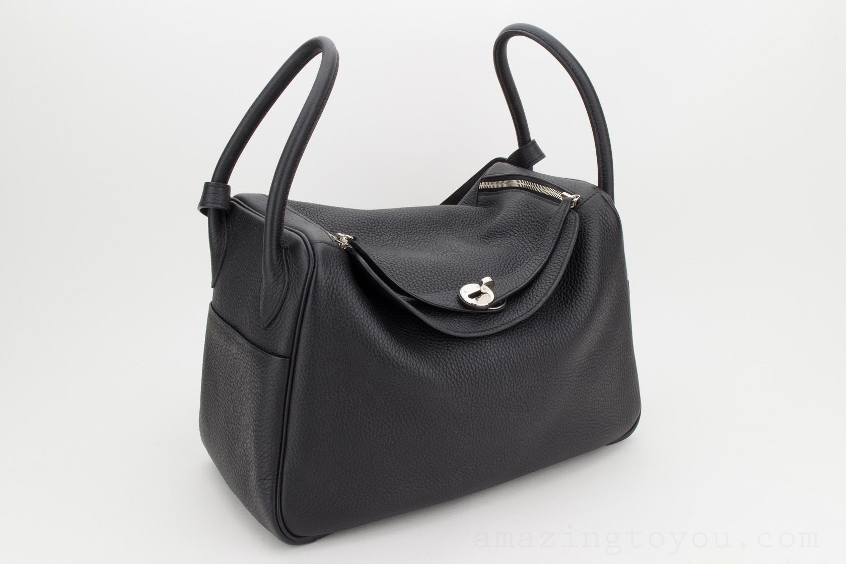Hermes Lindy 34 Black TOGO
