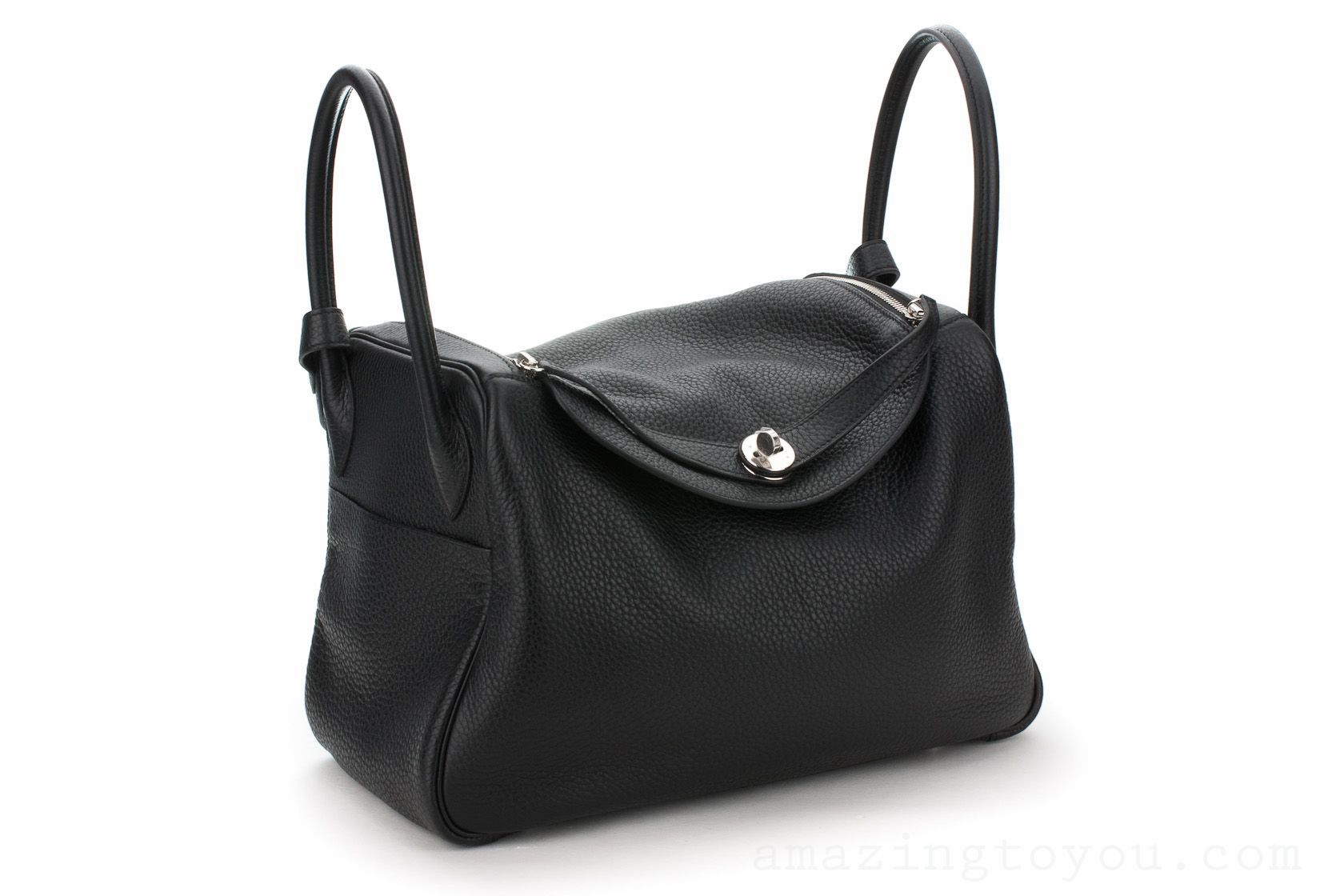 New Hermes Lindy 34 Black Clemence