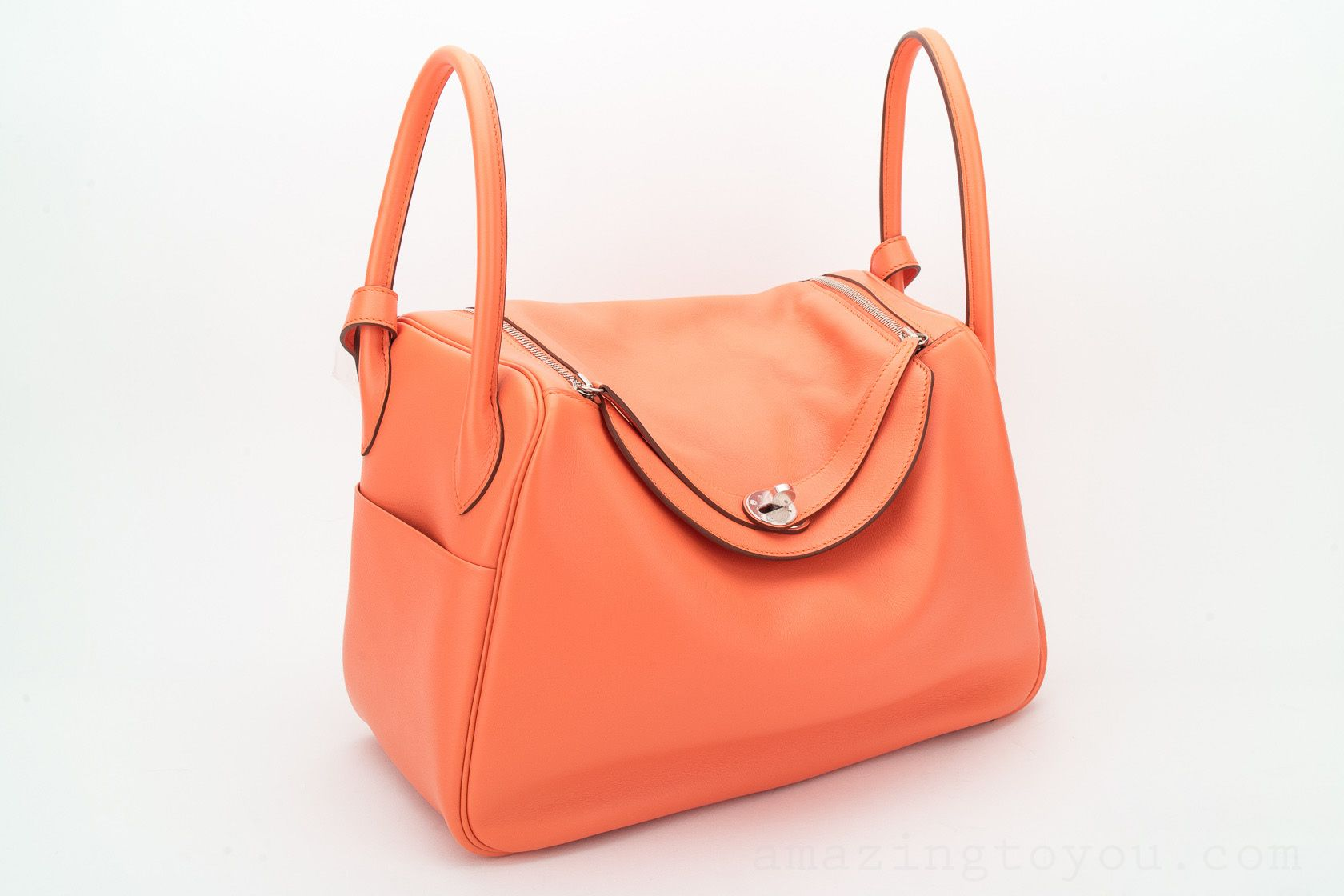 New Hermes Lindy 34 Mango Swift